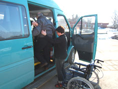 Busstransport till Kommunrehab