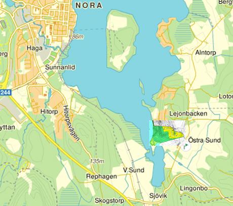 Karta Over Nora Karta 2020